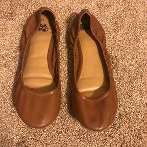 Shoes - 4️⃣ for $2️⃣0️⃣ | Caramel Tan Ballet Flats